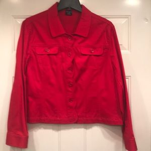 Red TRIBAL Jacket